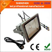 20w 30w 60w 90w 120w 150w 200w 300w DMX512 RGB 홍수 빛 주도 IP65 RGB 3in1 색 혼합 DMX512 벽 세탁기 LED 투광 조명