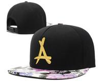 Darmowa Wysyłka Nowy 2018 Tha Alumni Snapback Czapka Czapki A Logo Kości Reta Hip Hop Cap Gorras Planas Strapback Hat Baseball Kwiatowy Czapki