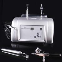 Oxigênio portátil Water Jet Peel máquina de injecção Facial Aparelhos de oxigénio New 99% de oxigênio puro ou remoção de Acne tratamento de rejuvenescimento da pele