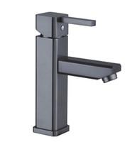 2017 Moderno Nuovo HotCold Black Pearl Style Brass dispersore del bacino per il bagno del miscelatore del rubinetto del Free Shipping