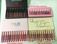 2018 NEW 12color =1box 4 style High- quality Hot new kylie 12...