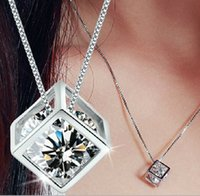 love cube 925 sterling silver pendant jewelry sets saint per...