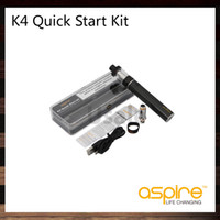 Aspire K4 Snelstartkit met 3,5 ml Cleito Tank 2000mAh K4 Batterij 0.27OHM Aspire Cleito Coils 100% origineel