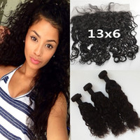 Peruvian Virgin Hair With Closure 13x6 Ear To Ear Bleached K...