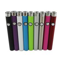 저렴한 510 펜 배터리 vape 푸시 버튼 vape 배터리 스타일러스 ecig 280mAh O 펜 배터리 - 두꺼운 오일 카트리지 - 03