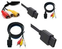 Самая низкая цена 1.8 M 6FT AV TV S-Video Super для Nintendo для Gamecube 64 для SNES для NGC для кабеля N64 AV