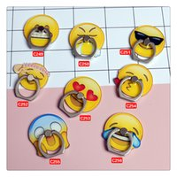 Smart Emoji Cellphone Ring Buckles Phone Holder Mount Stand ...