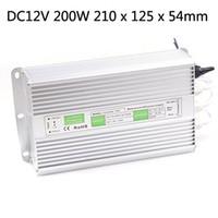 Livraison gratuite AC110V 220V DC 12V 100W 150W 200W Led extérieur Transformateur étanche LED Driver commutateur d'alimentation Ip67
