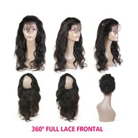 360 Lace Frontal Closure Body Wave Lace Frontal With Baby Ha...