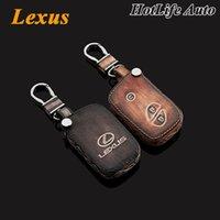 Lexus IS250 RX LS LX GX GT брелок для ключей из натуральной кожи вырезать ключ чехол 3 кнопки смарт-брелок автоаксессуары
