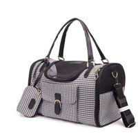 Para mochila transportando un pequeño bolso de viaje Cat Luxery Design Port Pears Pet Three Dog Fashion Vsuvk
