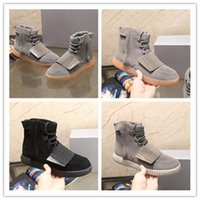 2017 Autumn and winter Y3 male boots Kanye West Boots shoes ...