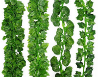 2m Artificial Ivy Leaf Garland Plants Vine Fake Foliage Flow...