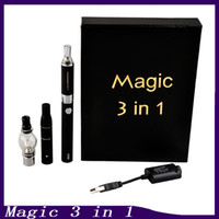 magic 3 in 1 vaporizer starter kit wax atomizer dry herb vaporizer liquid atomizers 650mah electronic cigarette gift box 2015 0211170-2