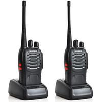 1pcs Baofeng BF-888S 핸드 헬드 워시 토키 UHF 400-470MHz 5W 16CH 단일 밴드 휴대용 CB 무선 웨이 라디오