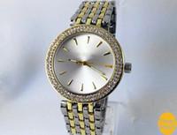 20% de desconto 2019 Hot Top Selling Mulheres Homens Relojes de pulso de diamante de ouro de aço inoxidável relógio de moda de ouro rolse Frete grátis