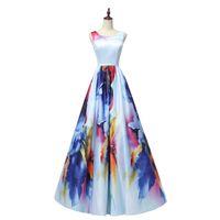 Spedizione gratuita Smalloped Prom Dresses Vestidos de Noiva A Line Formale Sera Party Dress Consegna veloce