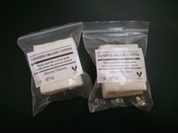 Otantik Buhar Teknik Mini paketi 100% Japon saf organik pamuk Fitilleri pamuklu kumaş japonya pedleri Için DIY RDA RBA Vape Ecig Bobin DHL