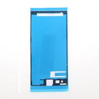 Ön Kesilmiş Pil Ön LCD Ekran Su Geçirmez Yapıştırıcı Tutkal Bant Sticker için Sony Z Z1 Z2 Z3 Z4 Z5 mini