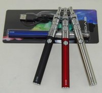 Ecigarettes Evod K3 Dry Herb Blister Starter Kit mit 650 900 1100 mAh Evod Batterie K3 Atomizer Glas Vaporizer Vape Stift Starter Kits