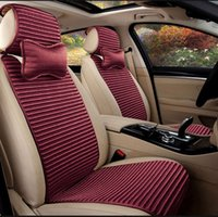 Heathy y el cojín del asiento de coche cojín de protección del medio ambiente respirable universal de cuatro estaciones cojín del asiento protección resbaladiza antideslizante