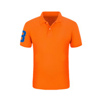 Neueste Stil Stickerei Icon Marke Kleidung Polo Homme Solide Großhandel Poloshirt Lässige Männer T-Shirt Tops Baumwolle Slim Fit