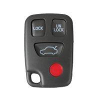 Garantido 100% Substituição Do Carro Remoto Chave Keyless Caso Shell 4 Botões Para Volvo S60 S40 V70 Frete Grátis