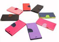 para el iphone 7 7 más la caja de cuero de la carpeta de la PU TPU híbrido suave de la caja del folio del tirón para el iPhone 5SE 6 6s Plus borde Galaxy S7 S7