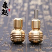 New Arrival 30mm Copper Self- locking Handle Grip Tattoo Grip...