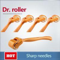 도매 microneedling dermaroller 제조 업체 192 바늘 derma 롤러 티타늄 바늘 microneedle 탈모 치료 derma stamp