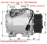 Heißer verkauf hochwertige kompressorkupplung fit Honda accord cl 03-08 38810RBA006 HS110R 118mm 7 pk 12 v