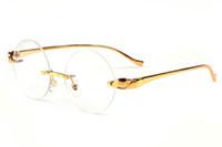 نظارات شمسية للجنسين بتصميم ريترو لون مصنوع من المعدن