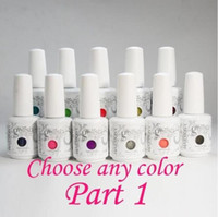 36 pcs / lot Nail Art célèbre marque Harmony GELISH Soak off UV / LED Gel polonais. 5 oz / 15 ml / 0,5 oz