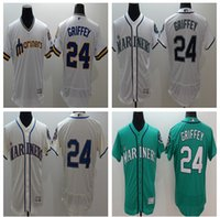 2016 Flexbase Baseball Jerseys Seattle Mariners 24 GRIFFEY j...