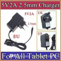 5V 2A DC 2. 5mm Plug Converter Wall Charger Power Supply Adap...