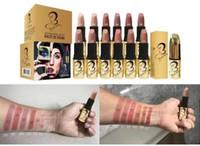2017 nouveau maquillage maquillage mat lipstick 12 pcs livraison gratuite
