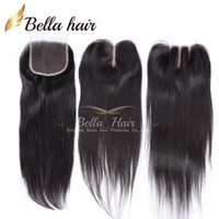 100% Unprocessed Peruvian Lace Closure Hair Weaves Closure P...