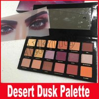 DESERT DUSK Eyeshadow 18 цветов Палитра Shimmer Matte Eye shadow Pro Eyes Makeup Косметика бесплатно DHL