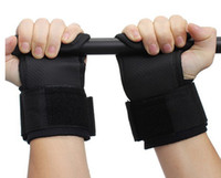 Grip di sollevamento pesi all'ingrosso-A1 cinghie supporto per il polso Gym Training Hand Bar Wraps Gloves