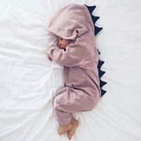 INS vente chaude bébé barboteuses enfants vêtements automne garçons et filles jolies combinaisons de dinosaures enfants vêtements garçons vêtements d'escalade