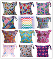 32 Colors Baby Infant Wet Dry Diaper Bag Infant Travel Nappy...