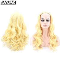 fashion 24inch Long Curly Synthetic Hair High Temperature Fi...