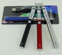 Heißer Evod K3 Dry Herb Blister Starter Kit mit 650 900 1100 mAh Evod Batterie K3 Zerstäuber Glas Vaporizer Vape Stift Starter Kits
