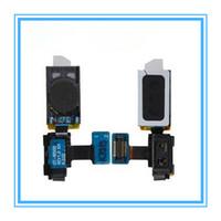 10 adet / grup Samsung Galaxy S4 SIV için Yeni Parçalar kulak parçası Hoparlör GT-i9500 i9505 ışık sensörü flex Şerit Ücreti ile Kulaklık Kulaklık Ücreti ...