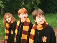 Cosplay Harry Porter Gryffindor scarf knitted striped scarf,...