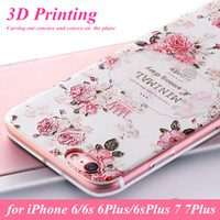 Luxury Bloomings Flower Soft TPU Cover For coque iPhone 8 7 ...
