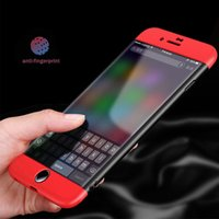 NEW 360 Degree Full Body Case + Tempered Glass for iPhone 6s...