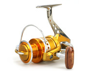 Sea Boat Spinning Fishing Reel BE1000-7000 Series 5.5:1 12+1BB Metal Wire Cup Folding Spinning Pesca Fishing Wheel
