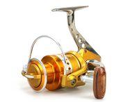 Deniz Tekne Iplik Balıkçılık Reel BE1000-7000 Serisi 5.5: 1 12 + 1BB Metal Tel Kupası Katlanır Iplik Pesca Balıkçılık Tekerlek