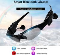 En Yeni Güneş Bluetooth Kulaklık Kablosuz Spor Kulaklık Sunglass Stereo Kulaklık Kulaklık mp3 Müzik Çalar ile Perakende Paketi